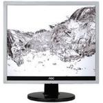 17 AOC e719Sda / LED / 1280 x 1024 / TN / 5:4 / 5ms / 1000:1 / 250cd-m2 / VGA+DVI / Repro / Stříbrný (e719Sda)