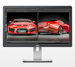 24 DELL UP2414Q UltraSharp / LED/ 3840x2160 / IPS / 16:9 / 8ms / 1000:1 / 350cd-m2 / HDMI+mDP+DP / USB 3.0 / MCR/ černý (860-BBDT)
