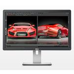 24 DELL UP2414Q UltraSharp / LED/ 3840x2160 / IPS / 16:9 / 8ms / 1000:1 / 350cd-m2 / HDMI+mDP+DP / USB 3.0 / MCR/ černý (860-BBDT)