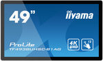 49 IIYAMA ProLite TF4938UHSC-B1AG / IPS / 3840 x 2160 / 16:9 / 8 ms / 500cd / 1100:1 / VGA+HDMI+DP+DVI (TF4938UHSC-B1AG)