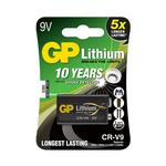 GP 9V CR-V9 lithiová - 1 ks (1022000911) - Baterie GP CR-V9 1ks