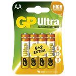 GP AA Ultra alkalická - 8 ks (1014218000)