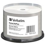 Verbatim BD-R 25GB 25k/ Single Layer Wide White Thermal Printable / 6x / cake box (43743-V)