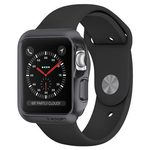 Spigen Slim Armor pouzdro pro Apple Watch 1 2 3 42mm šedá (059CS22563)