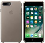 Apple Leather Case pro Apple iPhone 7 Plus - Taupe (MPTC2ZM/A)