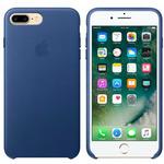 Apple Leather Case pro Apple iPhone 7 Plus - Sapphire (MPTF2ZM/A)