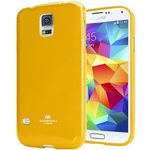 Mercury JELLY CASE zadní kryt pro Samsung i9500 Galaxy S4 žlutá (33600521)