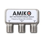 AMIKO DiSEqC 2/1 venkovní (DISAMO2100)
