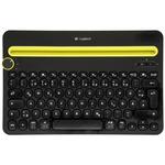 Logitech Wireless K480 černá DE / Klávesnice / Bluetooth / DE / černá (920-006350)
