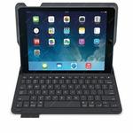 Logitech Type + Keyboard Cover Skandinávská / pouzdro s klávesnicí pro tablet iPad Air 2 a iPad Air / černý (920-006588)