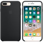 Apple Silicone Case pro iPhone 8 Plus 7 Plus - Black (MQGW2ZM/A)