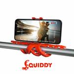 CELLY Squiddy Flexibilní držák s přísavkami pro telefony do 6.2 červená (SQUIDDYRD) - Celly Squiddy SQUIDDYRD