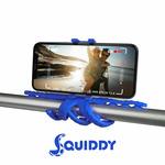 CELLY Squiddy Flexibilní držák s přísavkami pro telefony do 6.2 modrá (SQUIDDYBL)