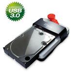 Fantec HDD-Sneaker bílá / dokovací stanice pro 2.5 3.5 SATA HDD / SSD (1442-F)