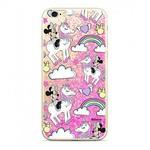 Disney Minnie 037 Glitter Back Cover pro Huawei P20 Lite růžová (8596311045257)