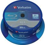 VERBATIM BD-R SL 6x 25GB 25 kusů / Blu-ray (43837)