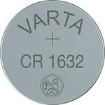 Varta Knoflíková baterie CR1632 / 3.0V / 140 mAh / lithium / 10x1 ks / v boxu (919286)