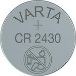Varta Knoflíková baterie CR2430 / 3.0V / 280 mAh / lithium / 10x1 ks / v boxu (919278)
