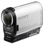 Sony HDR-AS200VR Action Cam + Live View ovladač / 8.8 Mpx CMOS FHD / NFC / WiFi / GPS / Bílá (HDRAS200VR.CEN)