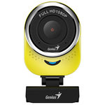 Genius QCam 6000 žlutá / Web kamera / 1920x1080 / USB 2.0 / mikrofon (32200002403)