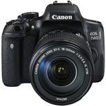Canon EOS 750D + 18-135 mm IS STM / 24.2 MPix / Wi-Fi / NFC / černý (0592C032AA)