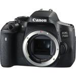 Canon EOS 750D Body / 24.2 MPix / Wi-Fi / NFC / černý (0592C018AA)