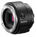 Sony ILCE-QX1B / Fotoaparát ve stylu objektivu / 20,1Mpx APS-C / jen tělo / objektiv pro mobil / Bajonet E (ILCEQX1B.EU)