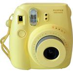 Fujifilm INSTAX MINI 8S / analogový fotoaparát / pro okamžitou fotografii / Žlutý (16427743)