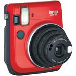 Fujifilm INSTAX MINI 70 Red / analogový fotoaparát / pro okamžitou fotografii / Červený (16513889)