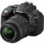 Nikon D5300 + AF-P 18-55 VR + 55-200 VR II / 24,2 Mpix / CMOS / 3.2 LCD / černá (VBA370K019)