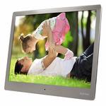 HAMA Steel Premium digitální fotorámeček / 24.64 cm (9.7) / stříbrná (95276-H)
