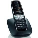 SIEMENS Gigaset C620 / DECT / GAP / bezdrátový telefon / černá (GIGASET-C620)