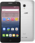 Alcatel 5056D POP 4+ / 5.5 / Quad-Core 1.1GHz / 1.5GB RAM / 16GB ROM / Dual SIM / Android 6.0 / stříbrná (5056D-2FALE11)