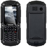EVOLVEO StrongPhone X2 / 2.0 / DUAL SIM / svítilna / microSDHC / 2000mAh / černý (SGM SGP-X2-B)