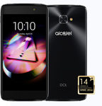 Alcatel IDOL 4S + VR BOX / 5.5 / Octa-Core 1.0GHz / 3GB RAM / 32GB ROM / Dual SIM / Android 6.0 / šedá (6070K-2CALE17)