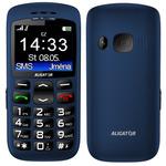 Aligator A670 Senior / CZ distribuce / SOS tlačítko / / modrý (A670Bl)