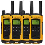 Motorola TLKR T80 Extreme / 4x vysílačka / LCD / dosah 10km / 8 kanálů + 121 kódů (MT00026)