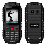 Aligator R12 eXtremo černá / 2.4 / IP68 / microSD / Dual-SIM / BT / 1000mAh (AR12BB)
