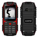 Aligator R12 eXtremo černo-červená / 2.4 / IP68 / microSD / Dual-SIM / BT / 1000mAh (AR12BR)