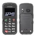 Swissvoice SV39 outdoorový telefon černá / 2 / BT / 2MP / microSD / FM / LED svítilna (SV39)