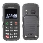 Swissvoice SV39 outdoorový telefon černá / 2 / BT / 2MP / microSD / FM (20600032)