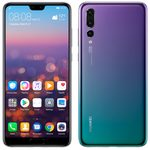 HUAWEI P20 Pro Dual SIM Twilight / 6.1 / O-C 4x2.36GHz+4x1.8GHz / 6GB RAM / 128GB / 40+20+8MP+24MP / LTE / Android 8 (SP-P20PDSFOM)