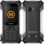 myPhone Hammer Patriot stříbrná / 2.4 / BT / Slot na microSD / 2MP / IP68 / Dual-SIM (TELMYHPATRIOTSI)