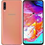 SAMSUNG Galaxy A70 128GB oranžová / 6.7 / OC 2x2+6x1.7GHz / 6GB / 128GB / 32+5+8MP+32MP / Android 9.0 (SM-A705)