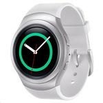 Samsung Galaxy Gear S2 R7200 / dotykové hodinky / AMOLED / Wi-Fi / Bluetooth / NFC / Tizen / stříbrný (SM-R7200ZWAXEZ)