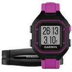 Garmin Forerunner 25 HR (vel. S) / GPS sportovní hodinky / snímač tepu / černo-fialová (010-01353-70)