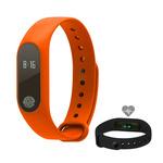 Aligator M2 Bluetooth fitness náramek oranžový (M2OR)