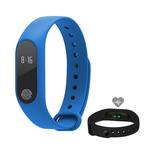 Aligator M2 Bluetooth fitness náramek modrý (M2BE)