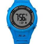 Garmin Approach S2 Blue Lifetime / chytré golfové GPS hodinky (010-01139-07)