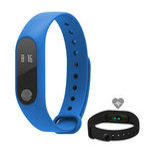 Rozbaleno - Aligator M2 Bluetooth fitness náramek modrý / rozbaleno (M2BE.rozbaleno)